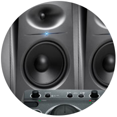JBL 5.1 Surround Sound Monitoring feature in the Audio Rooms
