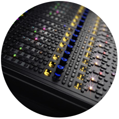 Pro Tools S6 Console feature in the Audio Rooms