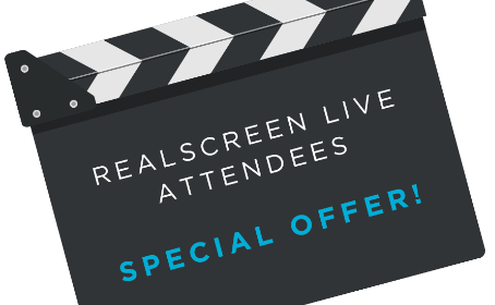 Realscreen Live Attendees Offer
